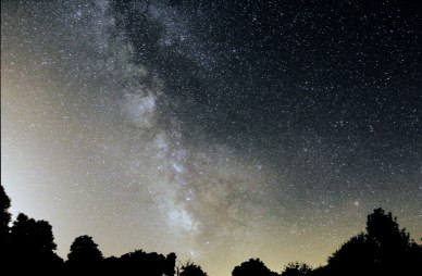 Milky Way from Astrofarm astronomy centre