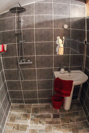 bed and breakfast accommodation wet room