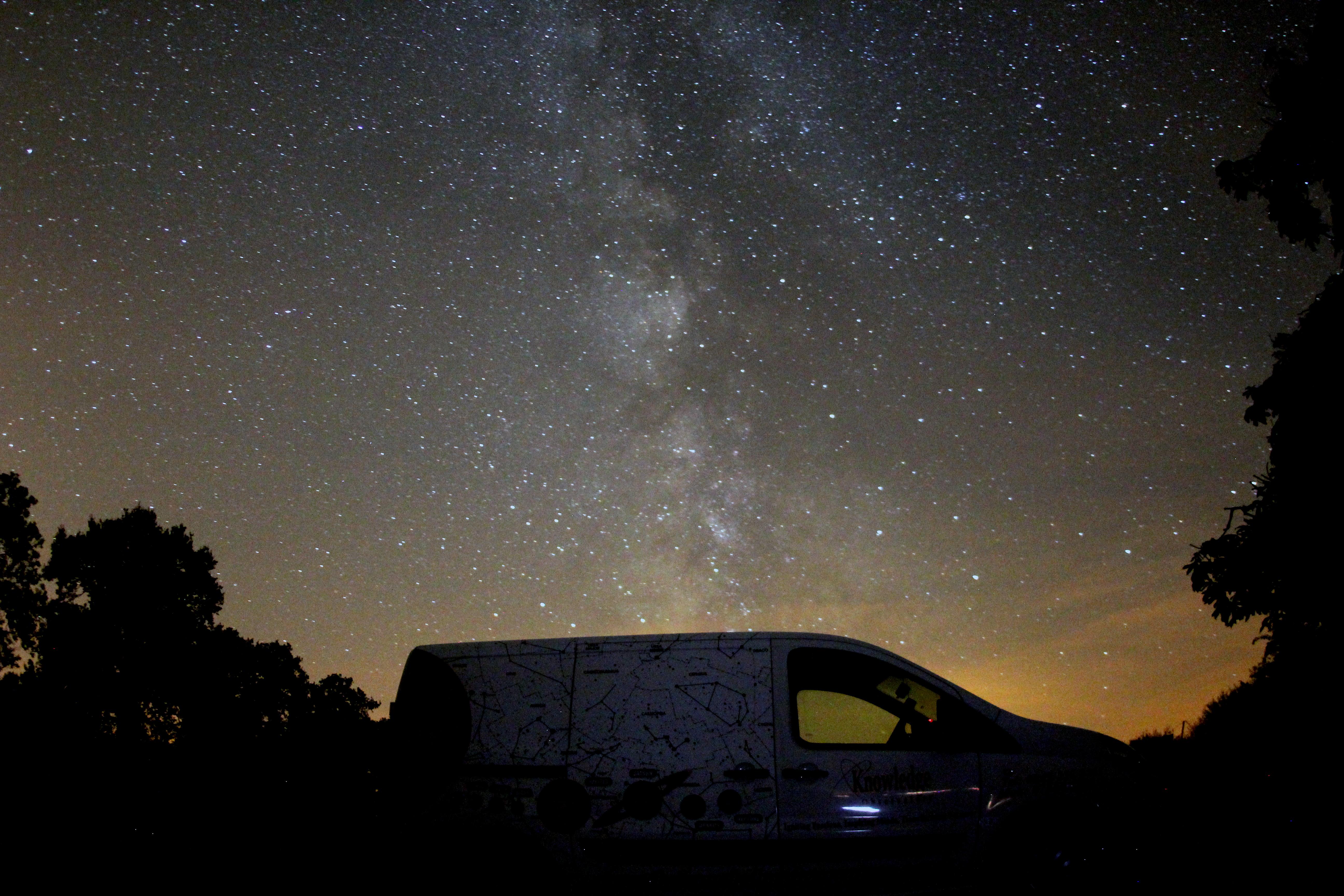 Milky way over Astrofarm Jul 15