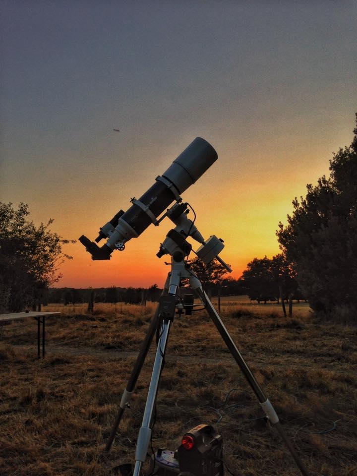 Astronomy holidays at Astrofarm